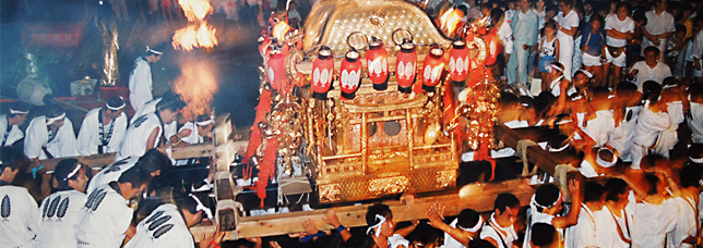 船幸祭・神輿