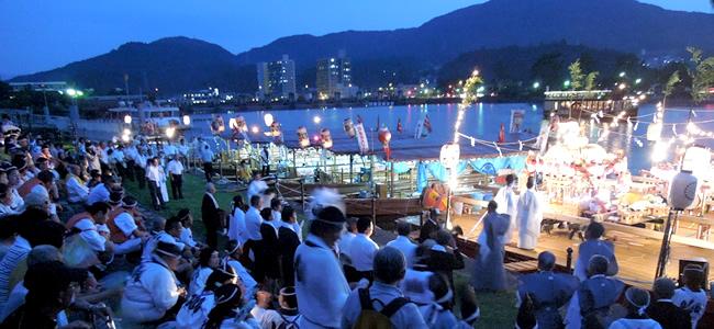 船幸祭御旅所祭