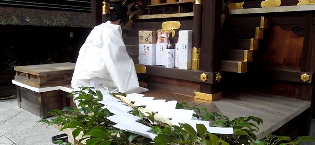 榊立神事本殿祭の儀