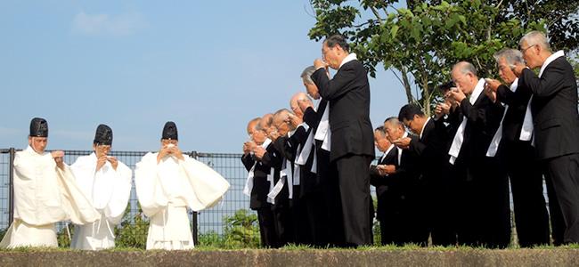 榊立神事黒津浜祭の儀