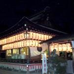 平成25年10月建部大社責任役員他有志一同奉納 拝殿・神門献燈提灯