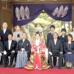 平成25年4月10日石井家・佐野家挙式ご結婚おめでとうございます