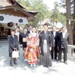 平成25年4月12日紺藤家・松井家挙式ご結婚おめでとうございます