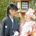 平成25年4月13日北野家・中村家挙式ご結婚おめでとうございます
