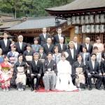 平成25年4月27日礒田家・藤盛家挙式ご結婚おめでとうございます