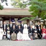 平成25年10月27日小林家・高田家挙式ご結婚おめでとうございます