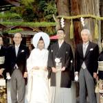 平成25年11月2日吉山家・大谷家挙式ご結婚おめでとうございます