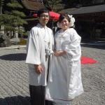 平成27年4月4日 小澤家・福冨家挙式 ご結婚おめでとうございます