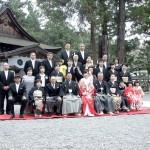 平成26年4月13日橋本家・北井家挙式ご結婚おめでとうございます
