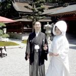 平成26年5月11日畠谷家・大西家挙式ご結婚おめでとうございます