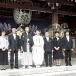 平成26年6月22日木村家・鵜飼家挙式ご結婚おめでとうございます