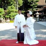 平成26年9月9日大村家・青山家挙式ご結婚おめでとうございます