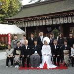 平成26年10月26日熊﨑家・中西家挙式ご結婚おめでとうございます
