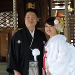 平成27年3月3日 小林家・能勢家挙式 ご結婚おめでとうございます