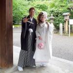 平成27年6月21日 清水家・内田家挙式 ご結婚おめでとうございます