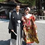 平成27年3月30日 前田家・北澤家挙式 ご結婚おめでとうございます