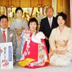 平成23年11月25日礒田家初宮詣元気に育ちますように。