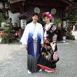 平成24年5月7日 和装前撮りご結婚おめでとうございます