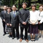 平成24年5月13日新徳家・小松家挙式ご結婚おめでとうございます