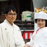 平成24年9月8日中西家・高田家挙式ご結婚おめでとうございます