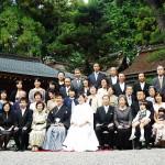 平成24年10月10日石原家・阪口家挙式ご結婚おめでとうございます