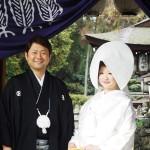 平成25年1月14日中川家・滑田家挙式ご結婚おめでとうございます