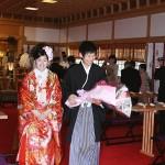 平成24年5月28日北野家 山本家挙式ご結婚おめでとうございます